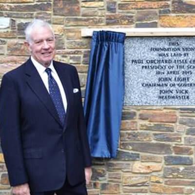 Patron – Mr Paul D Orchard-Lisle CBE TD DL LLD(hc) DSc(hc) MA FRICS