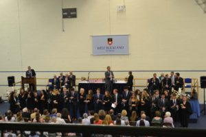 Year 13 speech day