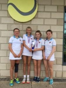 Girls Tennis - July 2019