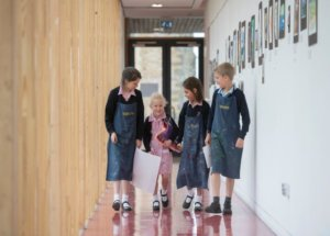 Art classes at WBS Prep School, Devon