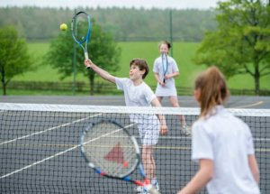 Tennis at WBS Prep School in Devon